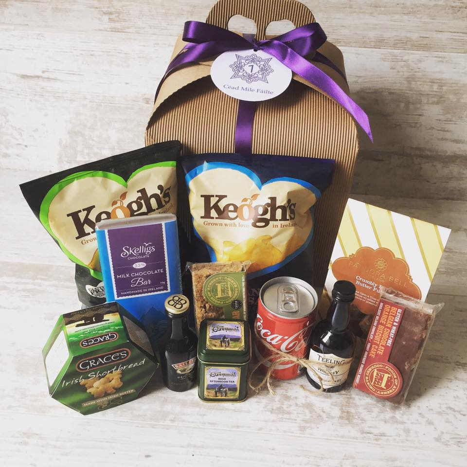 Purple Box & Basketcase.ie - Bespoke Hampers and Corporate Gifts